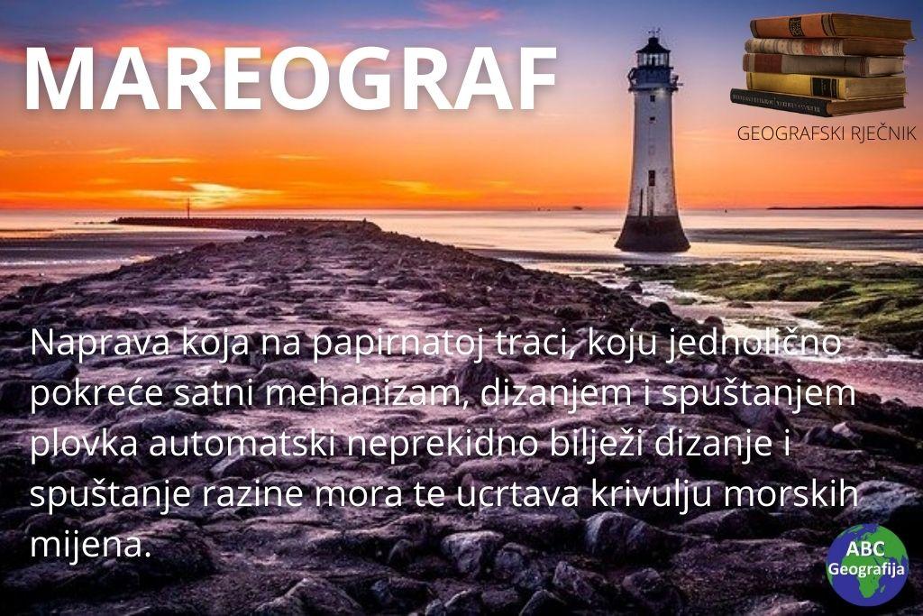 definicija mareografa