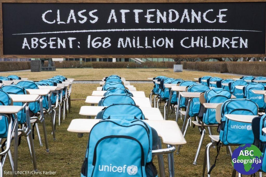 Instalacija Učionica pandemije