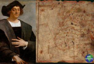 Kristofor Kolumbo s kartom