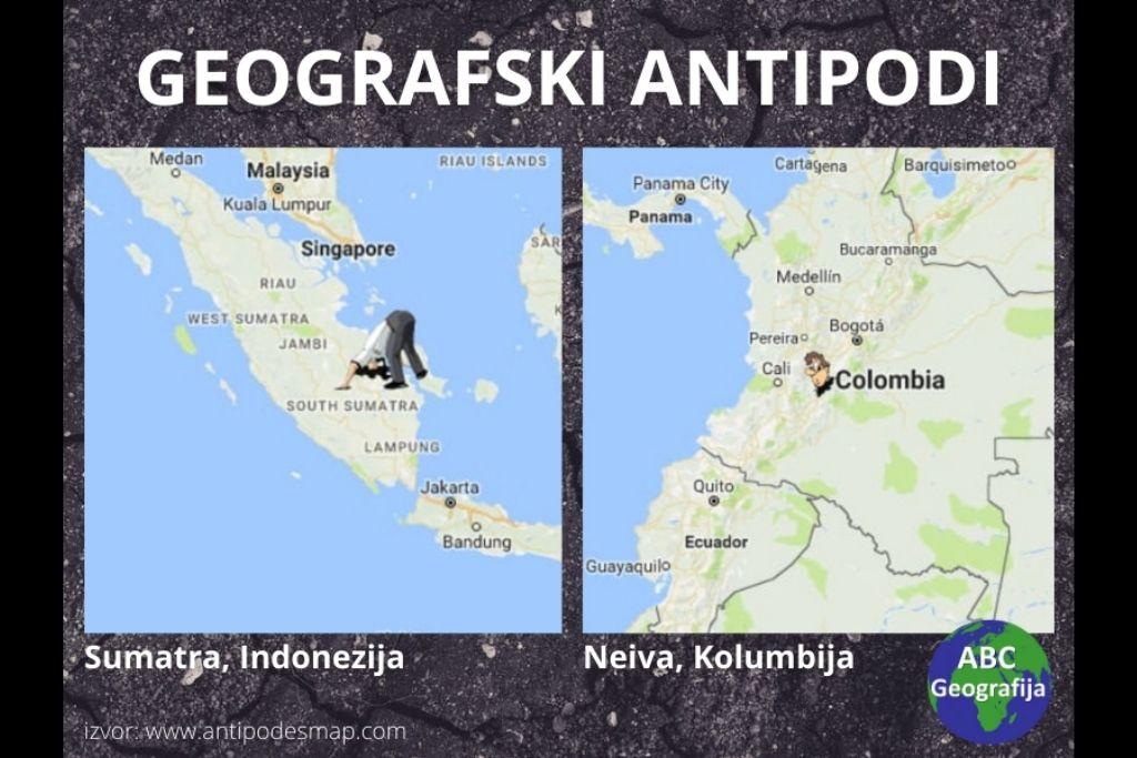 Geografski antipodi