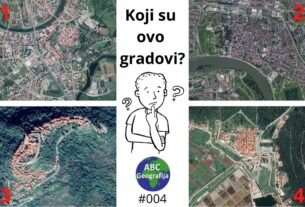 satelitske snimke četiri utvrđena grada u Hrvatskoj