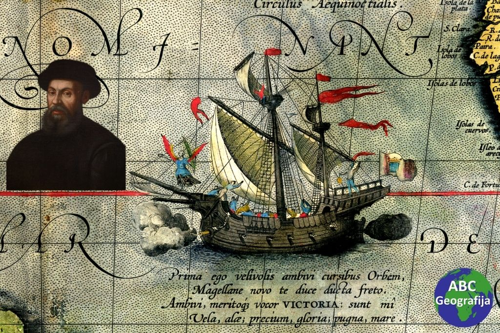 Ferdinand Magellan i brod Victoria