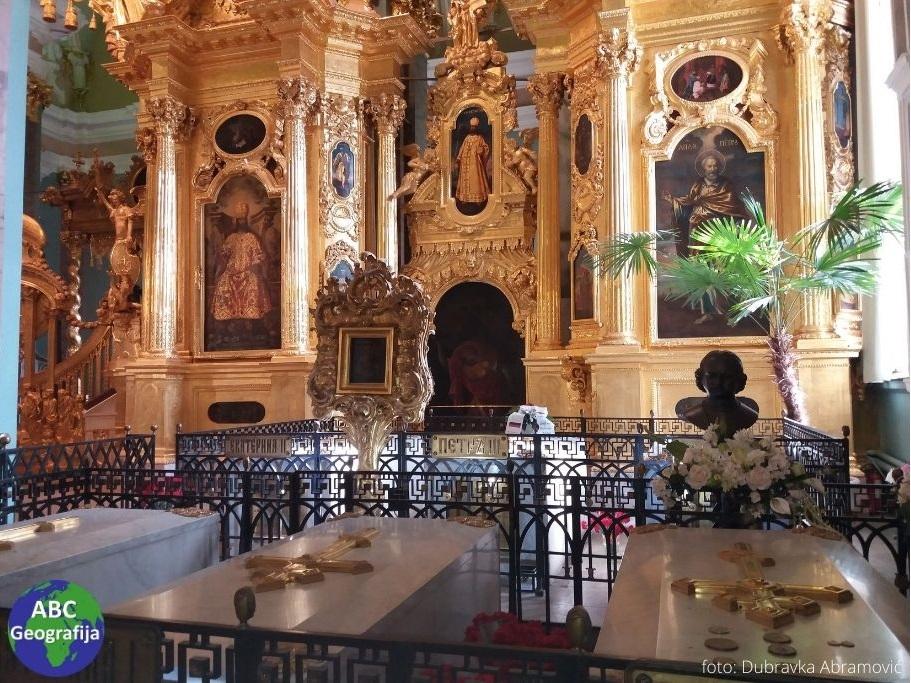 Grobovi careva u katedrali apostola Petra i Pavla