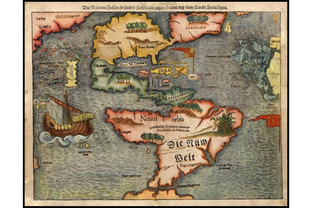 Karta Amerike iz 1561. godine