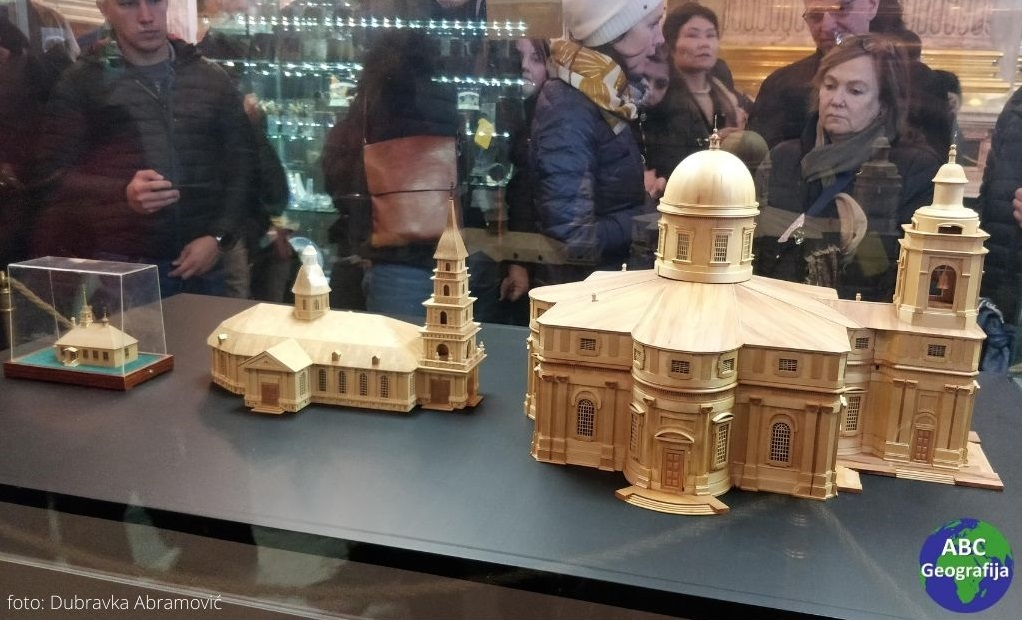 Modeli katedrale Sv. Izaka