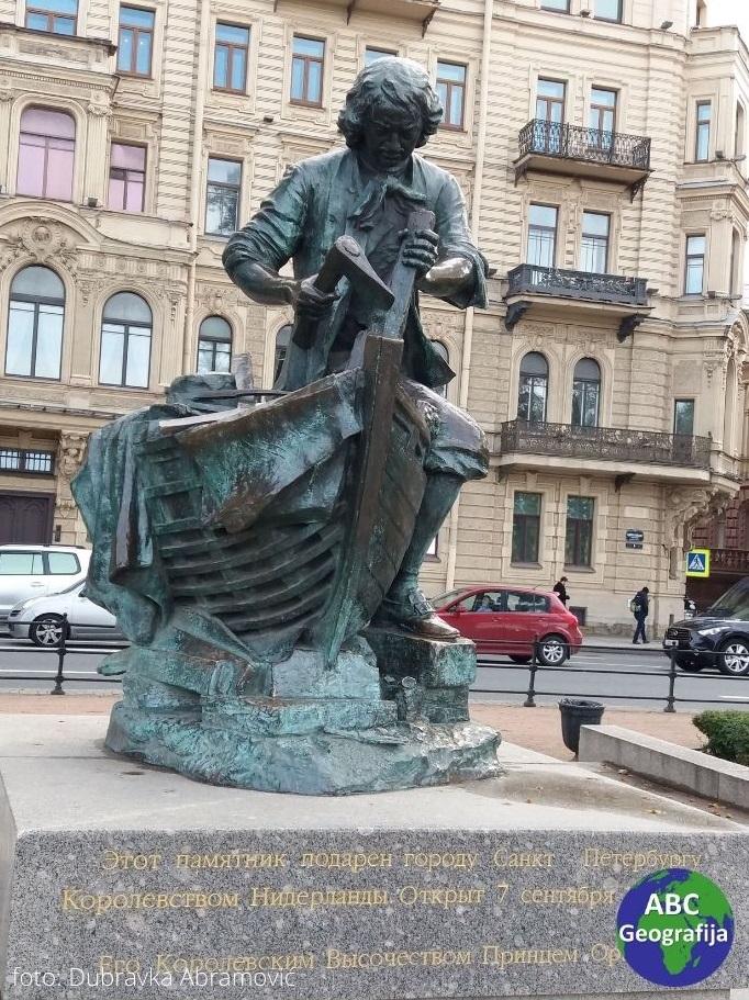Petar I. Veliki kao brodograditelj