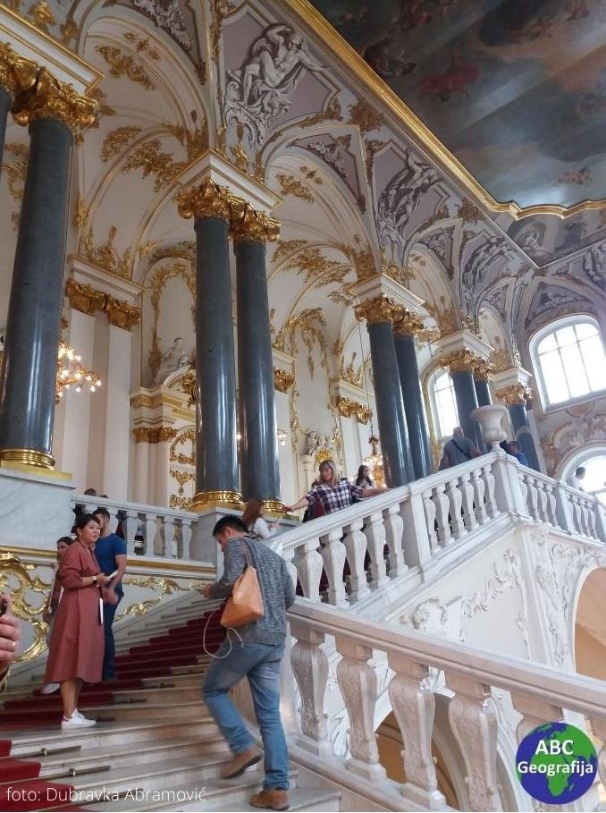 Stepenište u Ermitažu