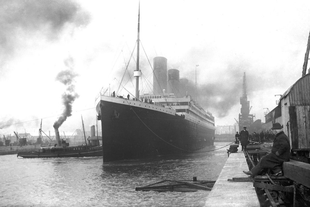Titanik isplovljava iz Southamptona