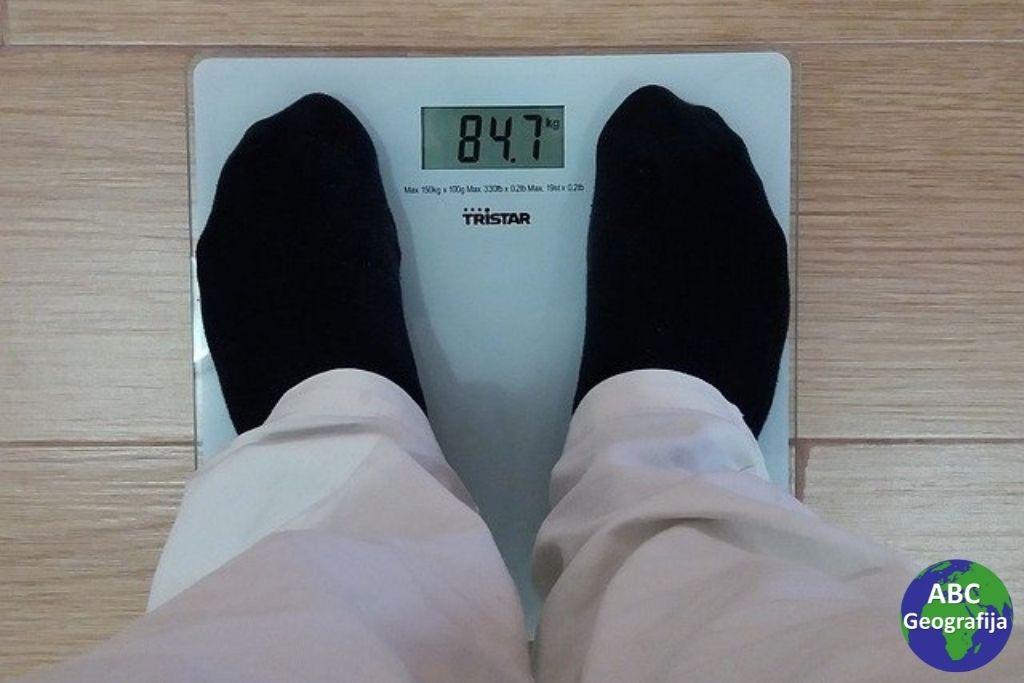 mjerenje na vagi