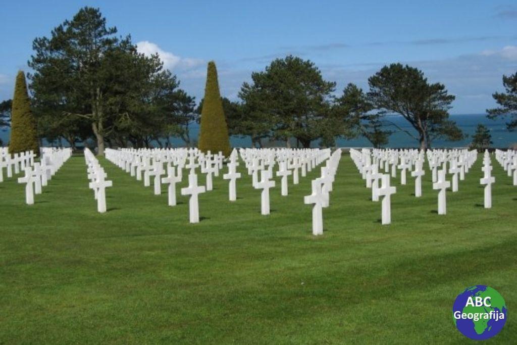 Omaha beach - groblje, Normandija