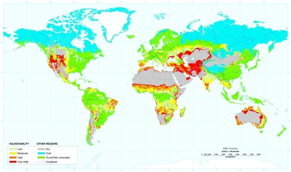 Dezertifikacija – globalna ranjivost