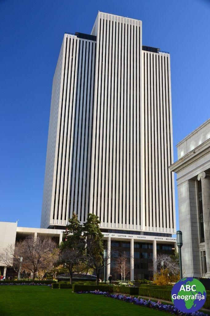 Salt Lake City – mormonska crkva i konferencijski centar