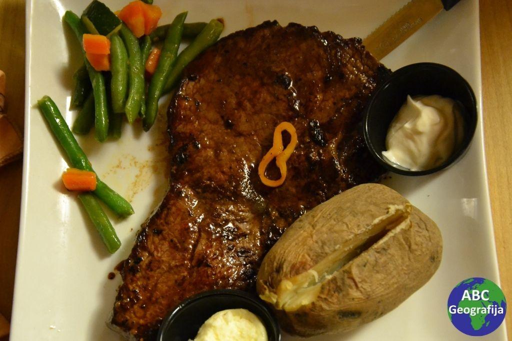 Steak u Broken Spur-u