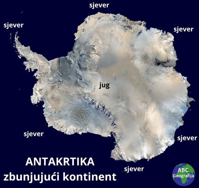 Antarktika – zbunjujući kontinent