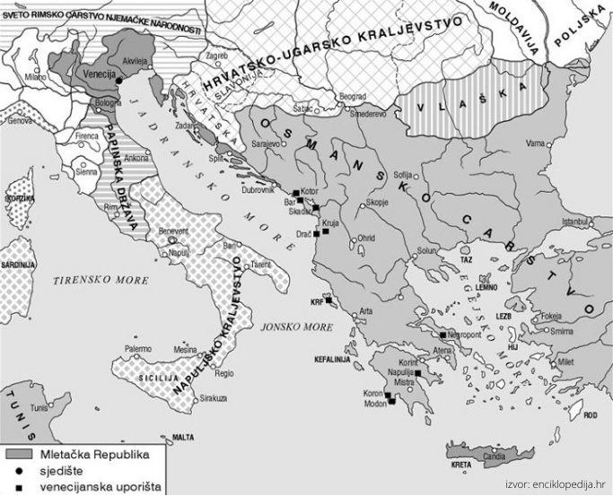 Mletačka Republika potkraj 15. stoljeća