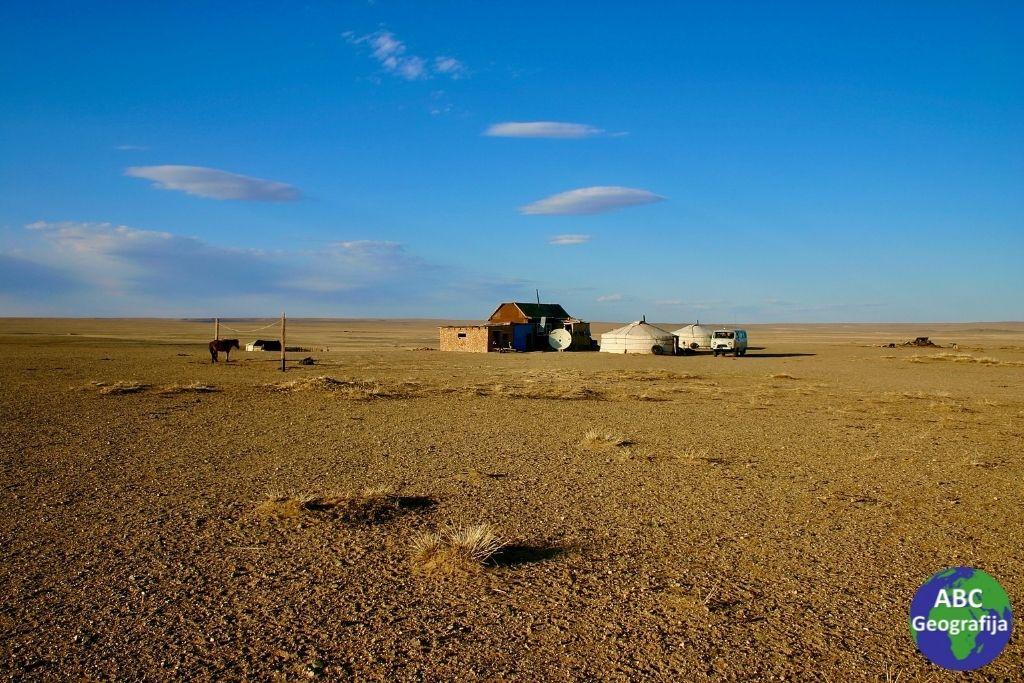 Pustinja Gobi i ger