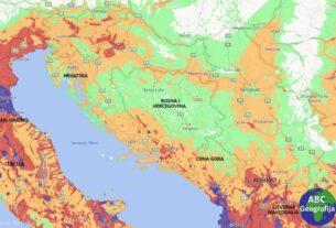 FM Global karta rizika od potresa