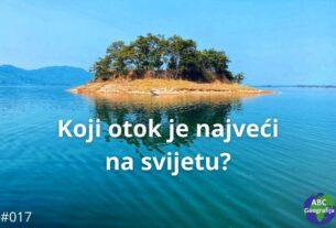 Koji je otok najveći na svijetu