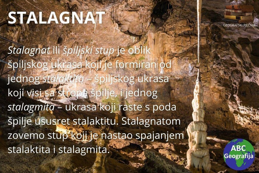 stalagnat - definicija