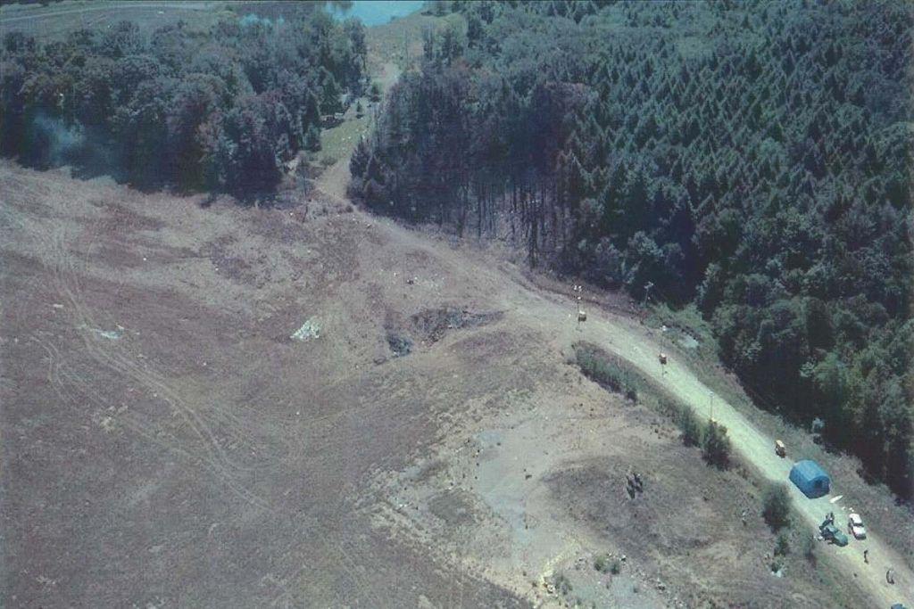 Mjesto pada leta 93 United Airlinesa 11. rujna 2001. godine
