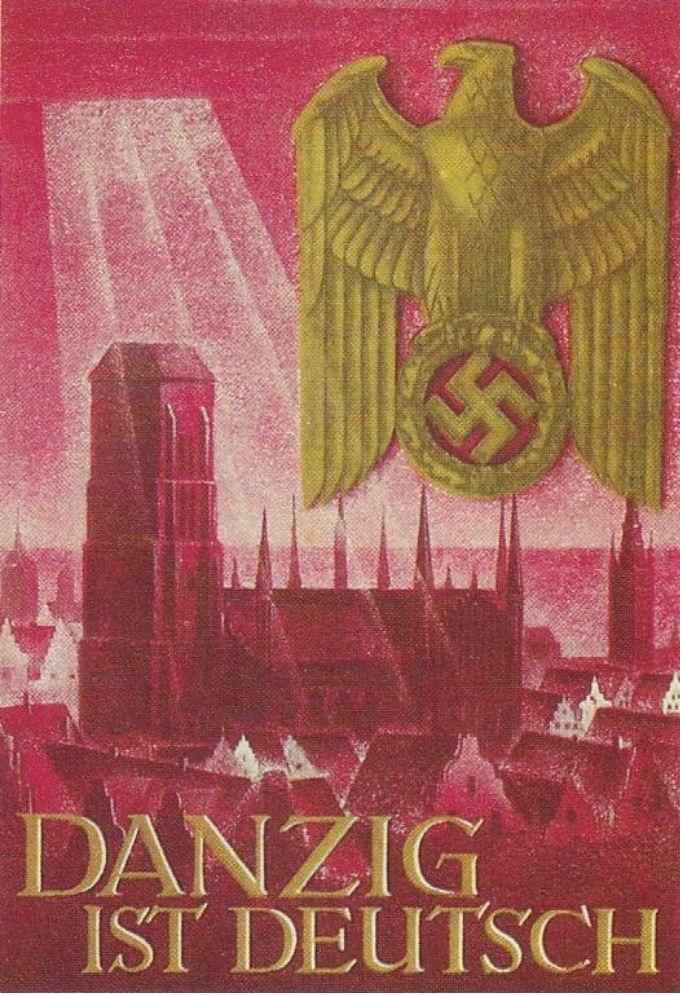 Nacistički propagandni plakat koji objavljuje da je Gdanjsk (Danzig) njemački
