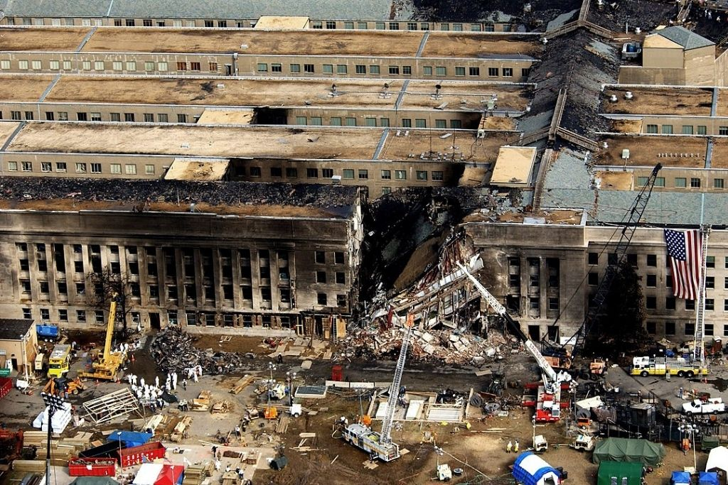 Pentagon, 11. rujna 2001. godine