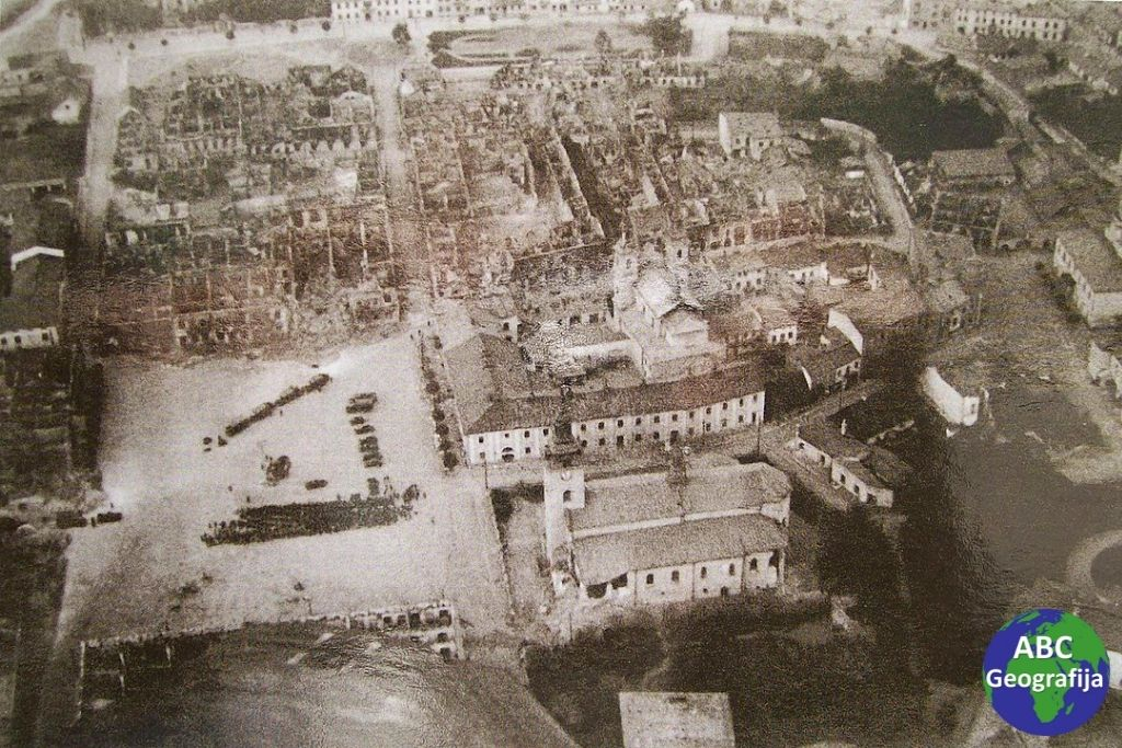 Wieluń neposredno nakon bombardiranja