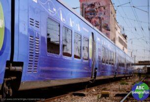 vlak Connecting Europe Express