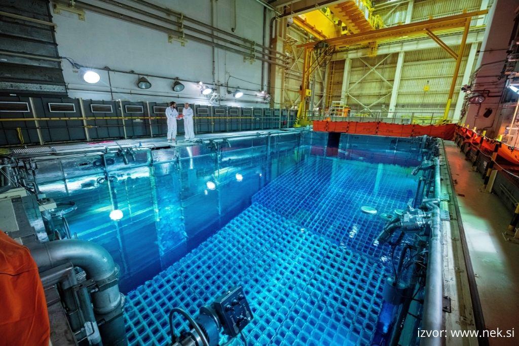 Bazen za privremeno odlaganje istrošenog nuklearnog goriva u NE Krško