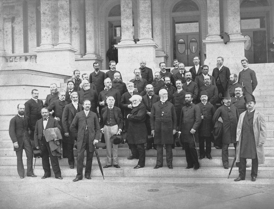 Delegati na Međunarodnoj meridijanskoj konferenciji u Washingtonu 1884. godine