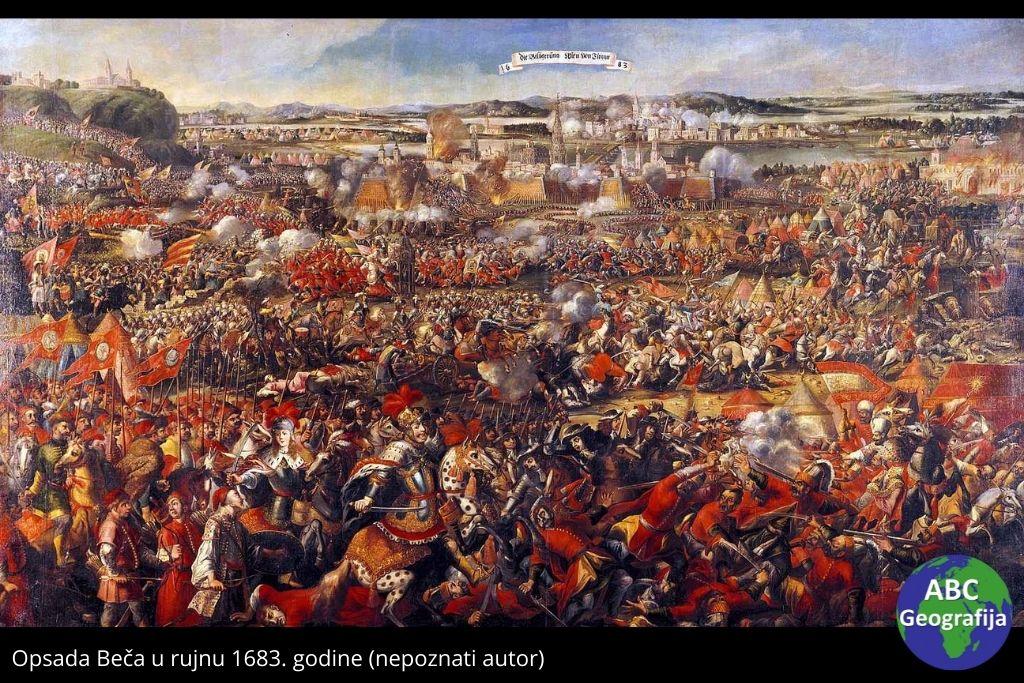 Opsada Beča u rujnu 1683. godine (nepoznati autor)